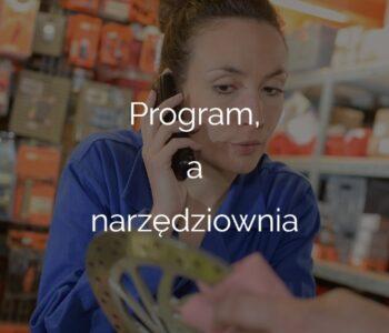 Program, a narzędziownia