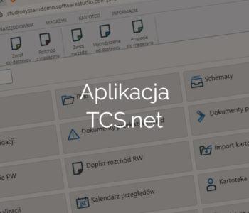 Aplikacja TCS.net