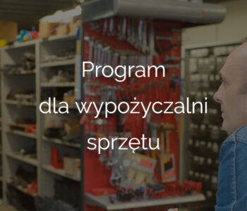 Program dla wypożyczalni sprzętu