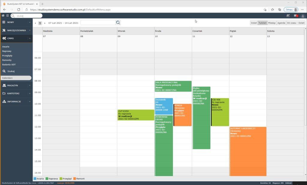 program zarządzanie narzędziownią Za pomocą magazyn bhp możesz uprawniać procesy w narzędziowni.